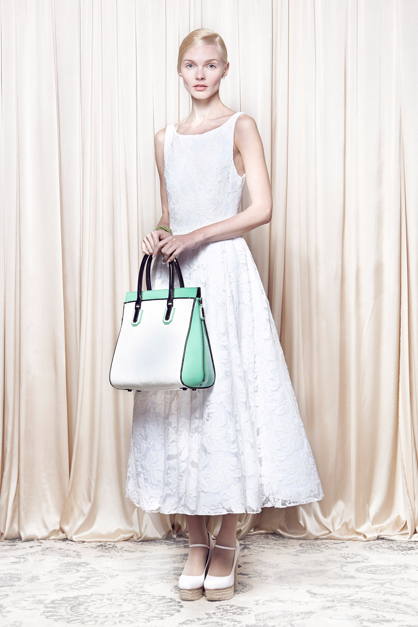 Tea Length - Alice Olivia Spring 2014