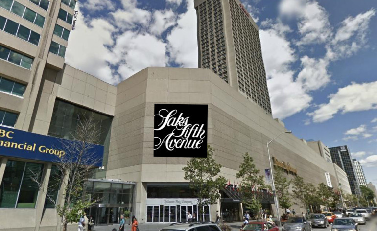 saks fifth ave bloor yonge